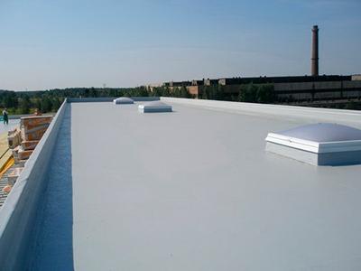Ремонт производственной крыши из мягкой кровли